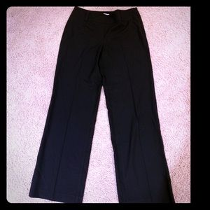 Talbots Black Wide Leg dress pants.